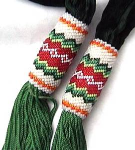 peyote stitch traditional gourd stitch beadwork